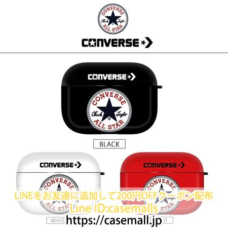 Converse ロゴプリントAirPods proカバー