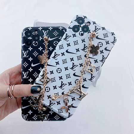 LV NIKE iPhone12 ケース  チェーン付き