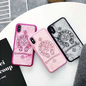 CHROME HEARTS iphoneX ケース 大理石柄