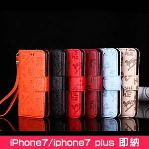 HERMES iPhone8PLUSケース 手帳