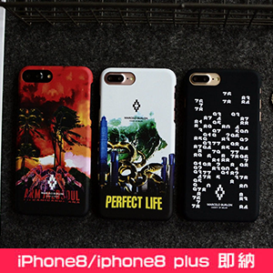 MARCELO BURLON iphone8PLUS ケース パロディ