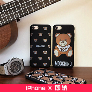 MOSCHINO iphone7ケース クマ