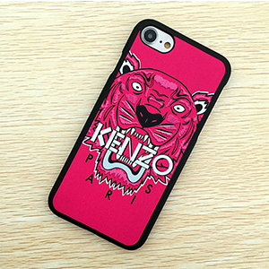 KENZO iphone8 ケース 虎 濃いピンク