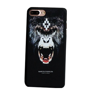 marcelo burlon iphone8plus ケース さる